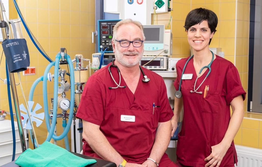 Dr. med. Hans-Peter Carstensen und Dr. med. Elena Guillén